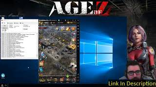 Age of Z Farm Bot - Multiple Accounts - Game Play - Live
