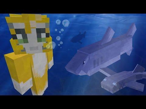 Minecraft Xbox - Shark Chase - Ocean Adventuring - Part 2