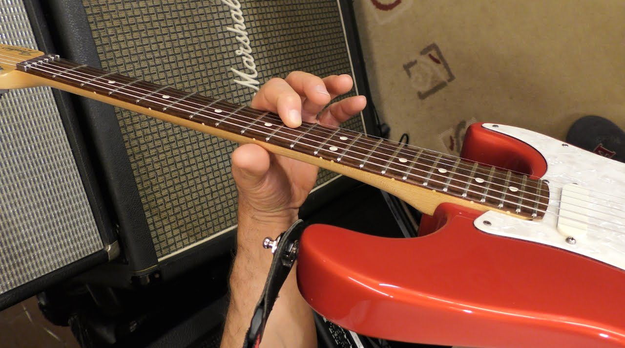 Guitar lick tionary eastern