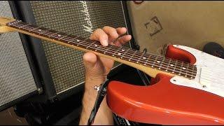 Jimi Hendrix Johnny Winter Joe Satriani Lick - Guitar Lesson