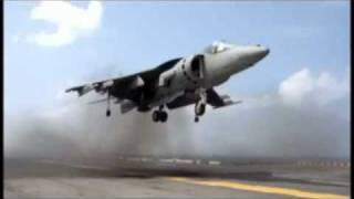 Harrier Vertical Lift Off