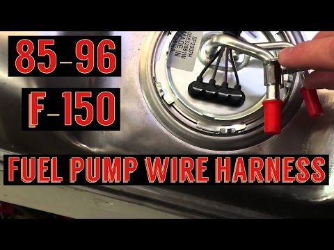 [QMVU_8575]  F150 fuel pump wiring harness install / Spectra fuel pump - YouTube | 1989 F150 Wiring Diagram |  | YouTube