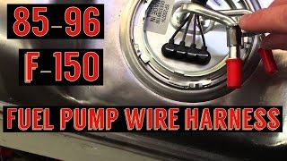 F150 Fuel Pump Wiring Harness Install Spectra Fuel Pump Youtube