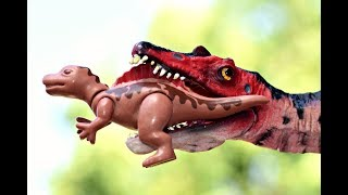 T Rex Hunting Dinosaur Playmobil Baby Spinosaurus. Dinosaurs Toys Adventure