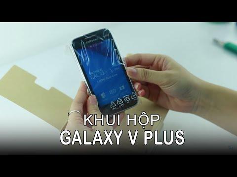 Samsung Galaxy V Video clips