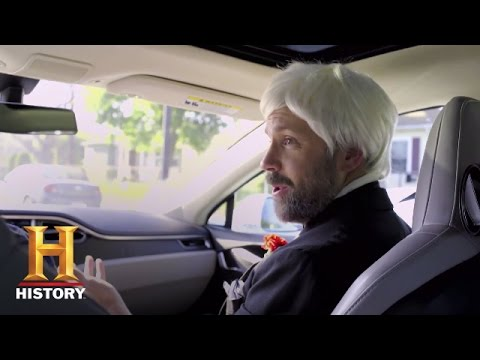 Thomas Edison Rides a Tesla (feat. Jason Sudeikis) | Night Class | History