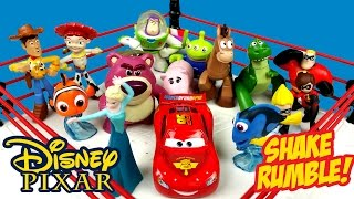 Disney Pixar Toys SHAKE RUMBLE with Finding Dory, Frozen Elsa, Disney Cars & Toy Story by KidCity