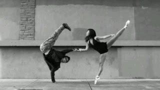 Танцы Балет + Современные. Красивая композиция!