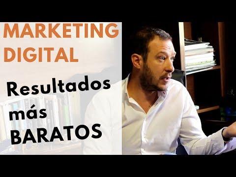 MARKETING DIGITAL = RESULTADOS MÁS BARATOS