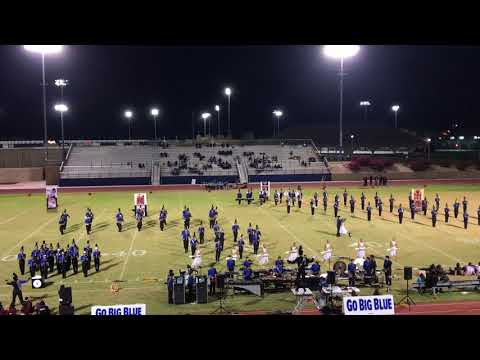 Cathedral City Marching Band 11-03-17 at home