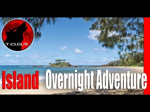 Canoeing in the Ocean - The Island - Overnight Adventure