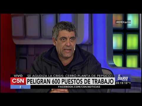 El Diario: Cerró la planta de Pepsico, peligran 600 puestos de trabajo