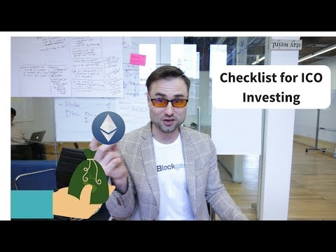 How To Invest In An ICO: Master Checklist.