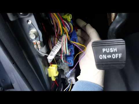Toyota Tundra Auto folding side mirror installation - YouTube