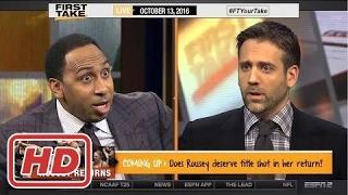 ESPN First Take - Stephen A. Smith Upset Over Carmelo Anthony Slam Rank2017