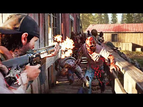 Days Gone Gameplay Walkthrough Part 1 | E3 2018 | Xbox One/Ps4 Pro/Pc/ | GamePlayRecords