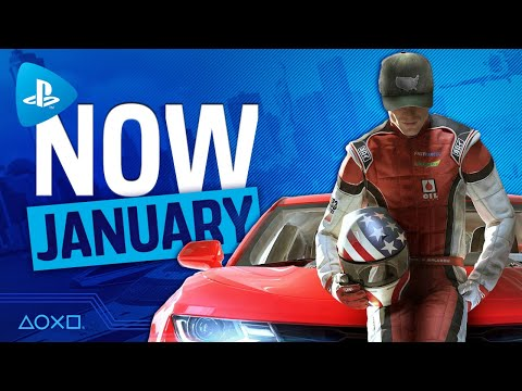 PlayStation Now - New Games January 2021