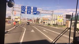 路線バス 前面展望 車窓 帯広駅BT→上士幌/ 拓殖バス(北海道) 帯広1335発