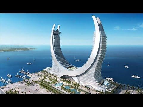 قطر تبهر العالم من جديد لانها بنت أكبر فندق خمس نجوم في العالم , شيء لا يصدق  - نشر قبل 1 ساعة