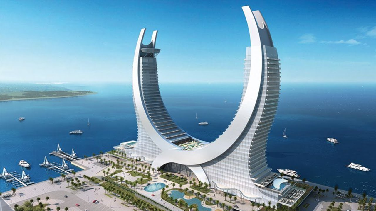 قطر تبهر العالم من جديد لانها بنت أكبر فندق خمس نجوم في العالم , شيء لا يصدق