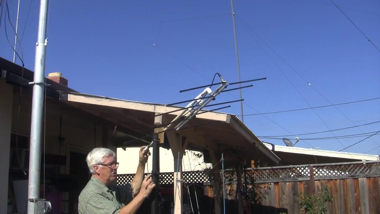 Quick And Dirty Azimuth, Semi-Elevation Antenna Bracket