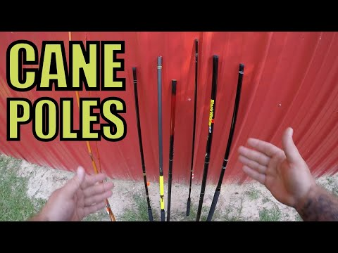 CANE POLE FISHING ROD INFO