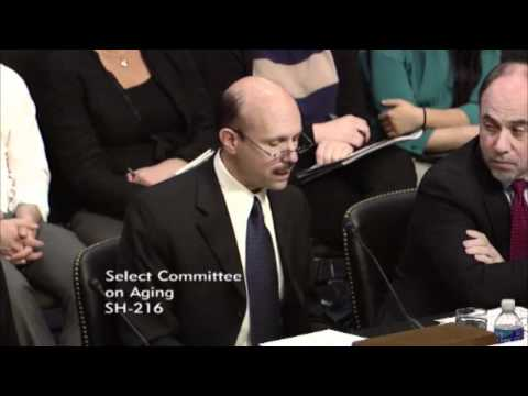 Dr. Bruce Chernof  of the SCAN Foundation Testifies to Senate Special Aging Committee