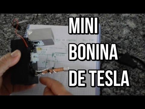 Mini bobina de Tesla