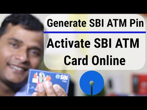 How to activate sbi debit card through online