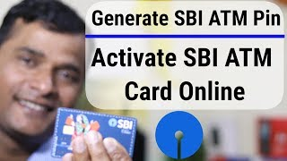 How To Generate SBI ATM Card PIN |  How To Activate SBI ATM Card Online Hindi