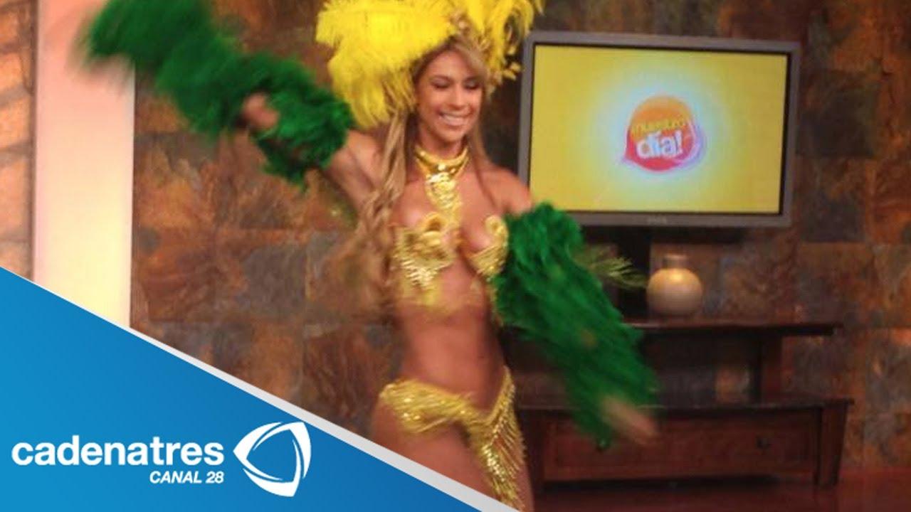 Samba Con El Ritmo Brasileiro De Juliana Baile Brasileño Youtube