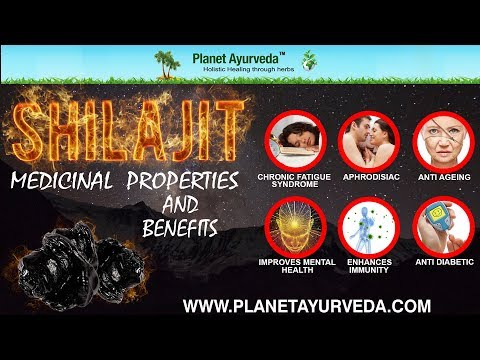 What is Shilajit, Medicinal Properties & Benefits