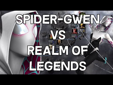 Spider-Gwen VS Realm of Legends [FULL CLEAR!] - Marvel Contest Of Champions