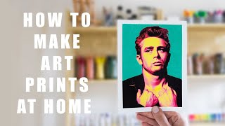 How to Print Your Art at Home & a GIVEAWAY