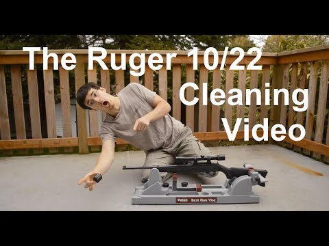 The Ultimate Ruger 10/22 Cleaning Video