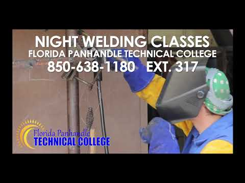 FPTC Night Welding Class Now Available at Florida Panhandle Technical College