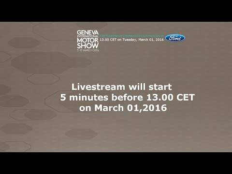 Geneva Press Conference 1.30PM CET