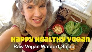 Low Fat Raw Vegan Waldorf Salad