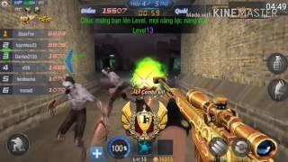 Gambar cover Truy kích Mobile    set súng hoàng kim đẳng cấp săn AI