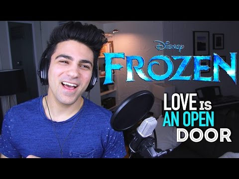 FROZEN  MUSICAL LOVE IS AN OPEN DOOR Male Part   Daniel Coz