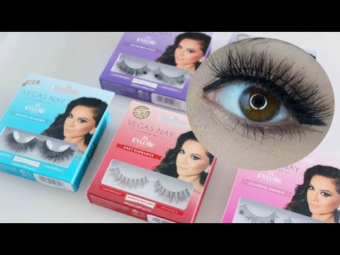 Vegas Nay Lashes - Try-On Demo