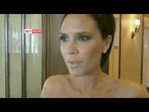 Victoria Beckham (Posh Spice) On American Idol. No More Paula Abdul!