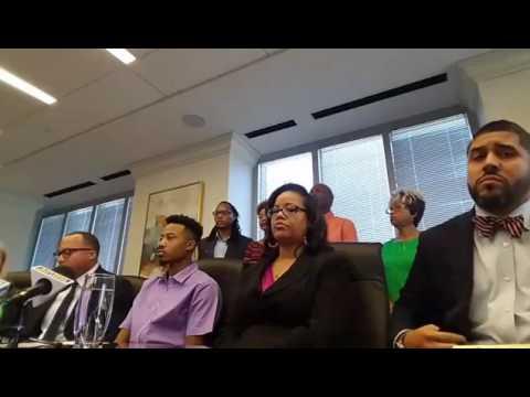 Press Conference: Demetrius Hollins and Morgan & Morgan Attorney Justin Miller