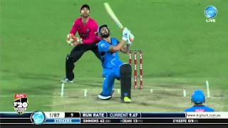 Sixers v Strikers match highlights