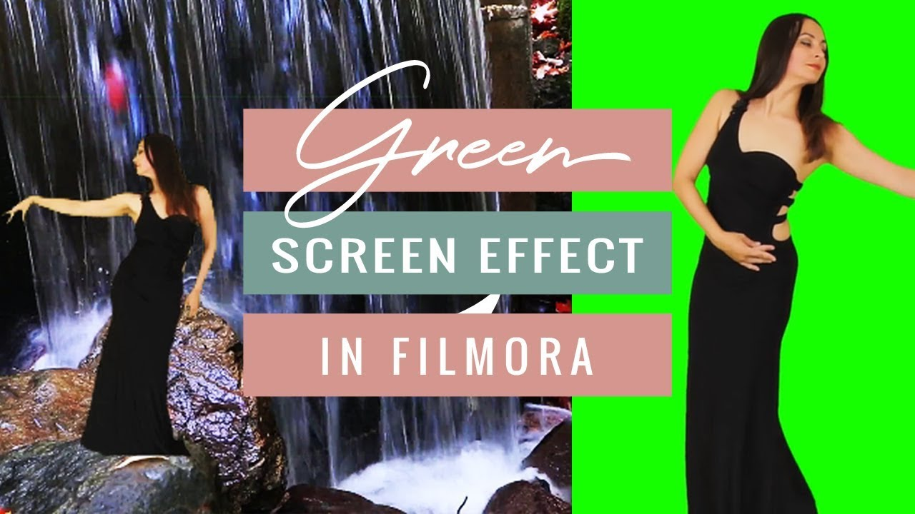 How to use the Green Screen Effect in Filmora + Giveaway! (Giveaway Ended) | Reina Gulle #1