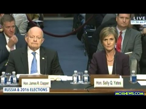 Sally Yates And James Clapper Testify Before Congress On General Flynn's Russia Conections