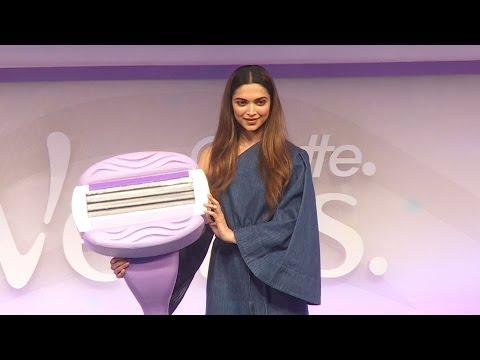 Deepika Padukone At Gillete Venus Breeze Launch Event