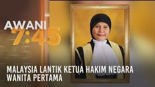 Malaysia lantik Ketua Hakim Negara wanita pertama