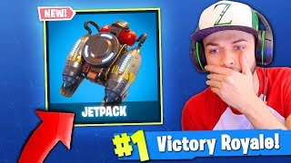 JETPACK est 'FINALLY' à venir à Fortnite: Battle Royale! (INFORMATIONS DIVULGUÉES)