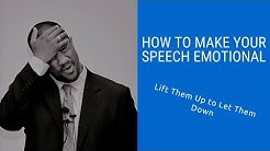Craig Valentine's Public Speaking Secrets: How to Make Your Speech Emotional
